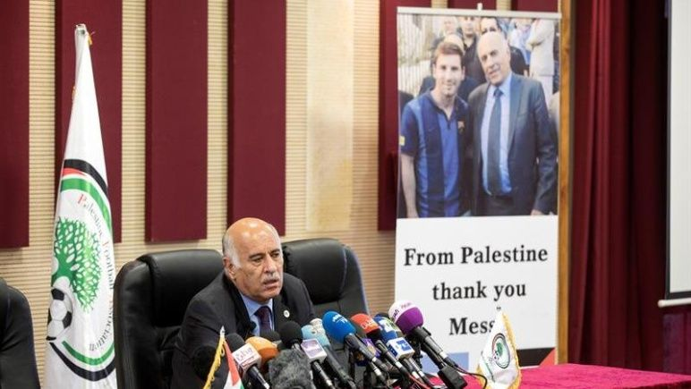 From Palestine thank you Messi