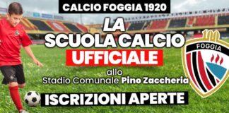 Scuola calcio Calcio Foggia 1920
