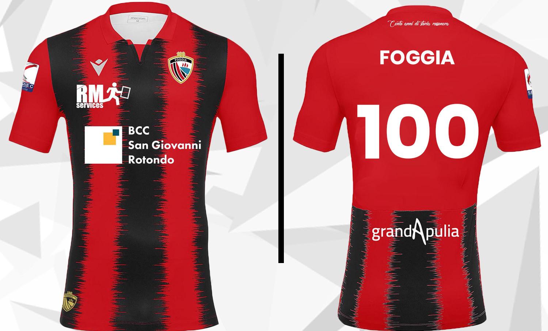 Nuova maglia Calcio Foggia 1920