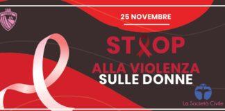 Giornata mondiale contro la violenza sulle donne Calcio Foggia