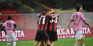 Foggia-Palermo 2-0