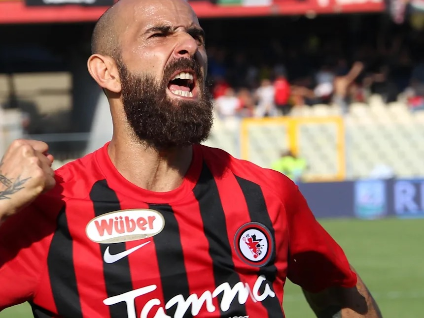 Fabio Mazzeo Foggia-Juve Stabia