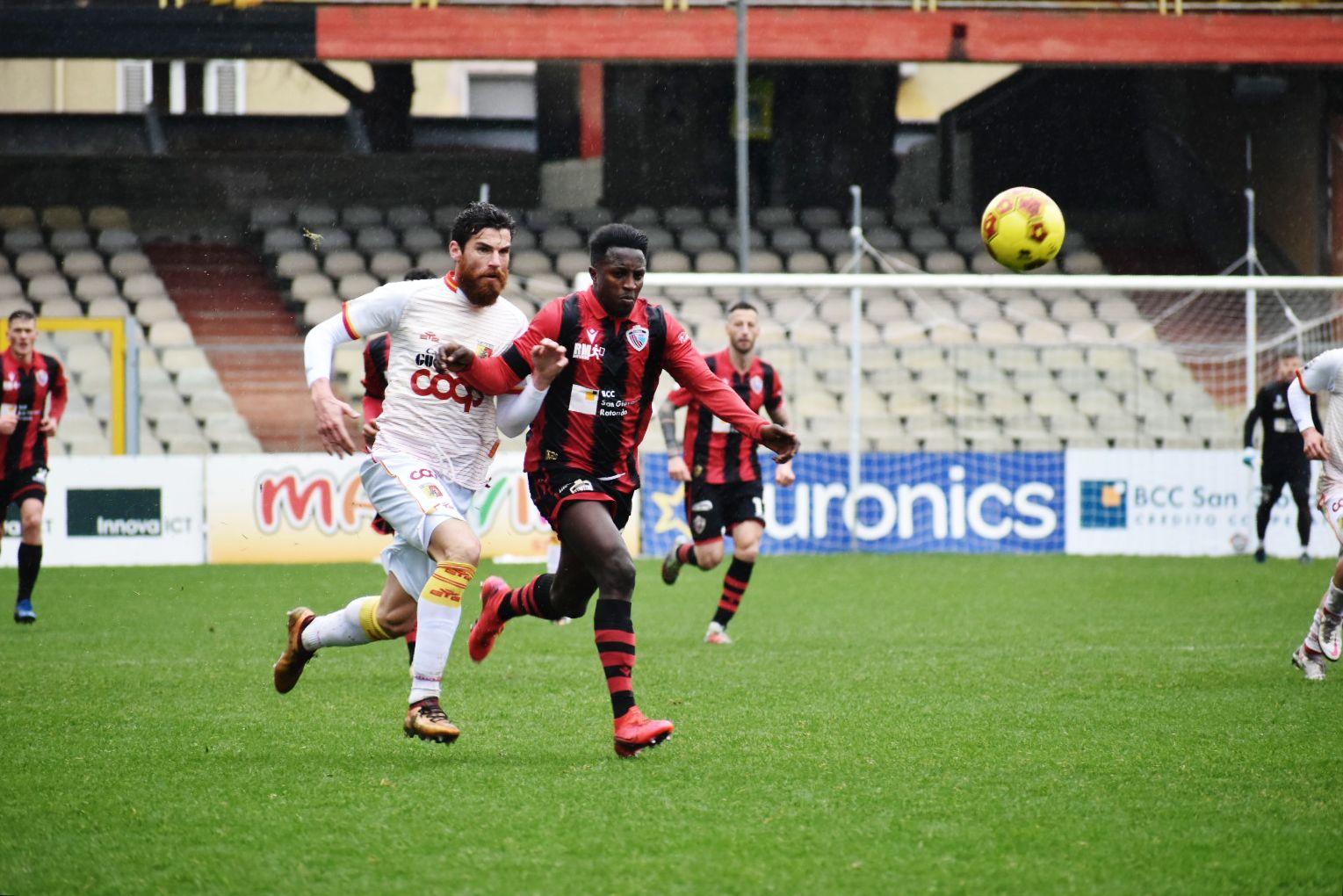 Foggia-Catanzaro 0-2