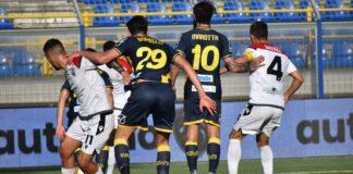 Uno scatto di Juve Stabia-Foggia 3-0