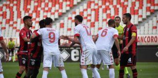 Uno scatto di Bari-Foggia 3-1