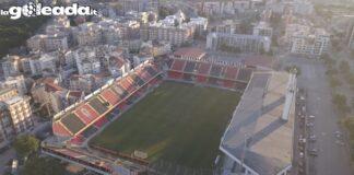 Lo stadio Pino Zaccheria di Foggia