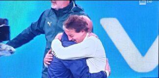 Abbraccio Mancini-Vialli