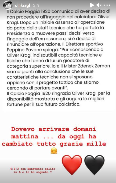 Instagram Story Oliver Kragl
